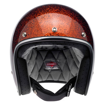 Biltwell Bonanza Helmet - Rootbeer Mega Flake