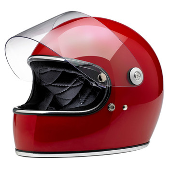 Biltwell Gringo S Helmet - Gloss Blood Red