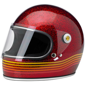 Biltwell Gringo S Helmet - Limited Edition Wine Red Spectrum