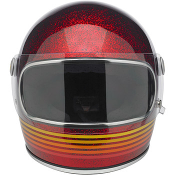 Biltwell Gringo S Helmet - Limited Edition Spectrum - Wine Red