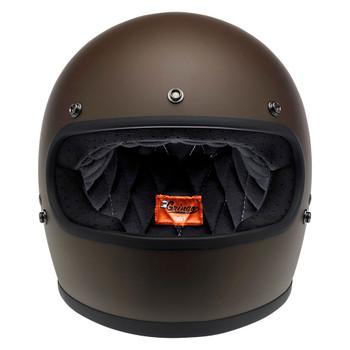 Biltwell Gringo Helmet - Flat Chocolate