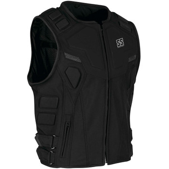 Speed and Strength Critical Mass Armored Vest - Black