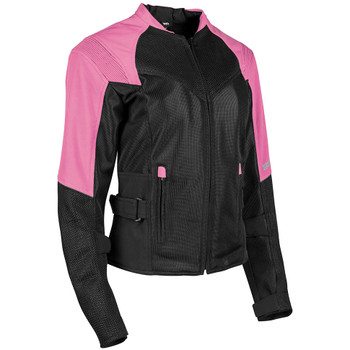 Speed and Strength Women's Sinfully Sweet Mesh Jacket - Pink