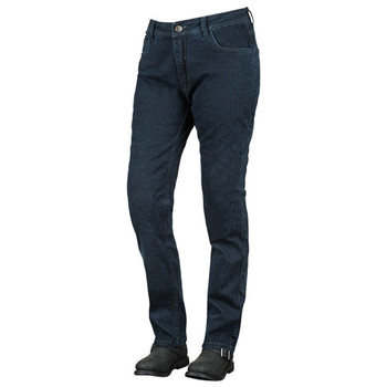 Speed and Strength True Romance Armored Stretch Moto Jeans - Dark Blue
