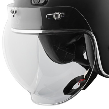 Speed and Strength 3-Snap Universal Bubble Shield - Clear
