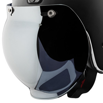 Speed and Strength 3-Snap Universal Bubble Shield - Mirror