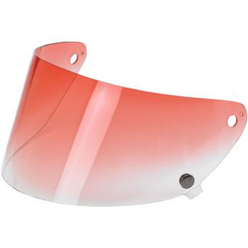 Biltwell Gringo S Flat Shield - Red Gradient