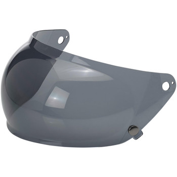 Biltwell Gringo S Bubble Shield - Smoke
