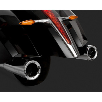 Vance & Hines Hi-Output Slip-On Exhaust Mufflers for Victory