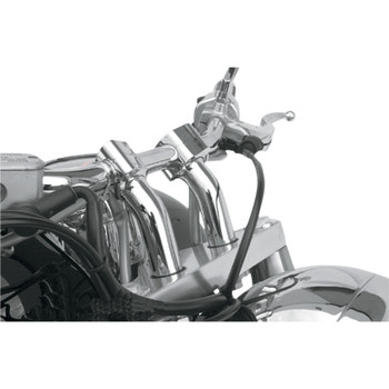Baron Kickback Risers - Chrome