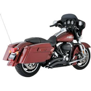 Vance & Hines Big Radius Exhaust for 2009-2016 Harley Touring - Black