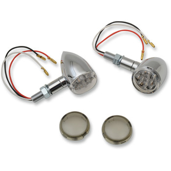 Drag Specialties LED Mini Deuce Marker Lights - Chrome