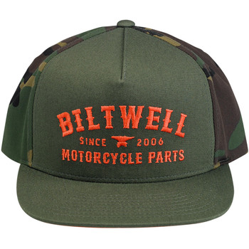 Biltwell Patrol Trucker Hat - Camo/Orange