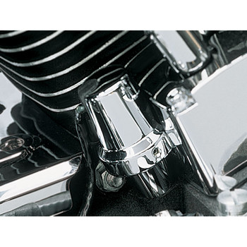 Kuryakyn Chrome Oil Sender Switch Cover for Harley Evolution