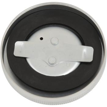 Drag Specialties Chrome Original-Style Vented Gas Cap - Chrome