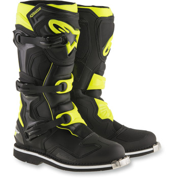 Alpinestars Tech 1 Boots - Black/Yellow