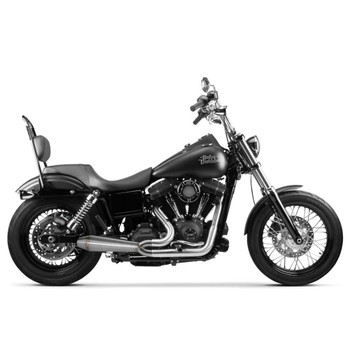 Two Brothers Racing 2-Into-1 Gen II Comp-S Exhaust for 2006-2017 Harley Dyna - Stainless
