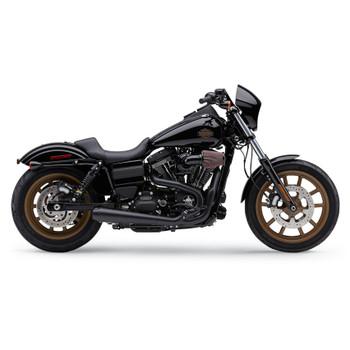 Cobra El Diablo 2-Into-1 Exhaust for 2012-2017 Harley Dyna - Black