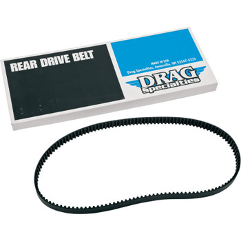 """Drag Specialties 1"""" Rear Drive Belt 130 Tooth for Harley"""
