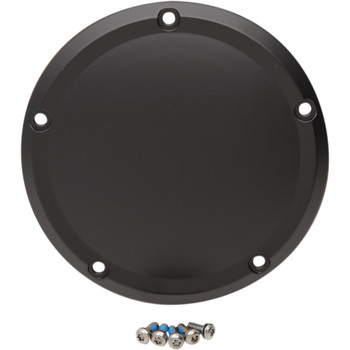 Drag Specialties Derby Cover for 2016-2018 Harley Touring - Flat Black