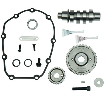 S&S 465 Cams for Harley M8 Touring Models - Gear Drive