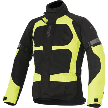 Alpinestars Santa Fe Air Drystar Jacket - Black/Fluorescent Yellow