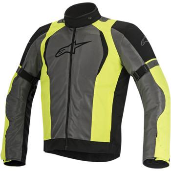 Alpinestars Amok Air Drystar Jacket - Black/Gray/Yellow