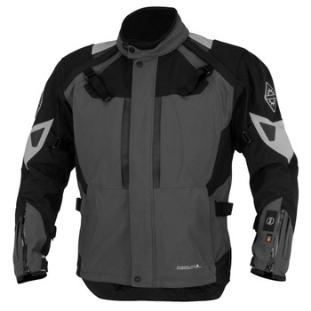 FirstGear 37.5 Kilimanjaro Textile Jacket - Grey/Black