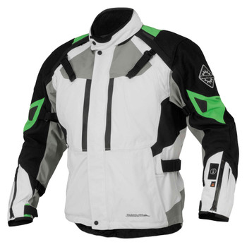FirstGear 37.5 Kilimanjaro Textile Jacket - White/Black