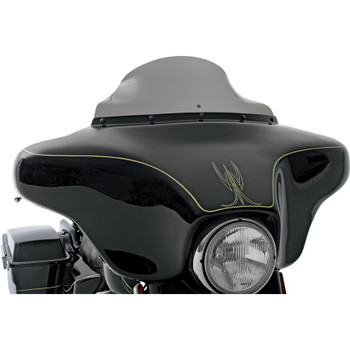 "Klock Werks 6.5"" Flare Windshield for 1986-1995 Harley Touring - Dark Smoke"