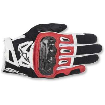 Alpinestars SMX-2 Air Carbon V2 Gloves - Black/Red/White