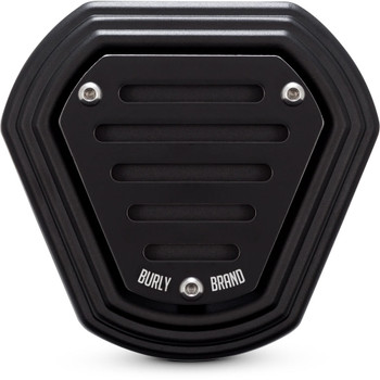 Burly Hex Air Cleaner for 2008-2016 Harley Touring and 2016-2017 Softail - Black