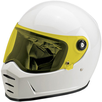 Biltwell Lane Splitter Shield - Yellow