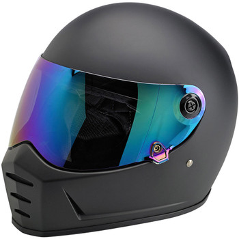 Biltwell Lane Splitter Antifog Shield - Rainbow Mirror