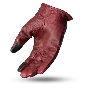 First Mfg. Roper Leather Gloves - Oxblood
