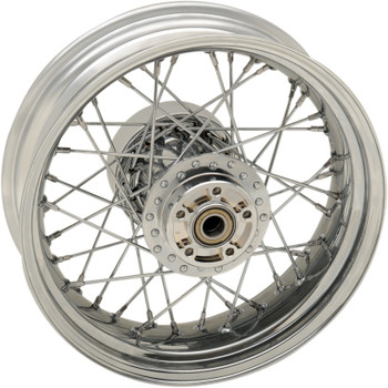 "Drag Specialties 16"" x 5"" Laced 40-Spoke Rear Wheel for 2009-2018 Harley Touring with ABS"