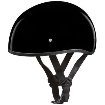 Daytona DOT Skull Helmet - Gloss Black
