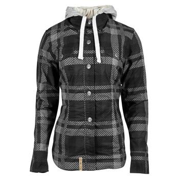 Speed and Strength True Romance Flannel Moto Shirt - Black