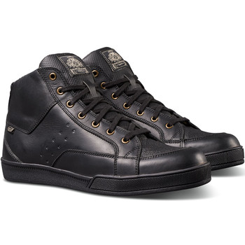 Roland Sands Fresno Riding Shoe - Black/Black