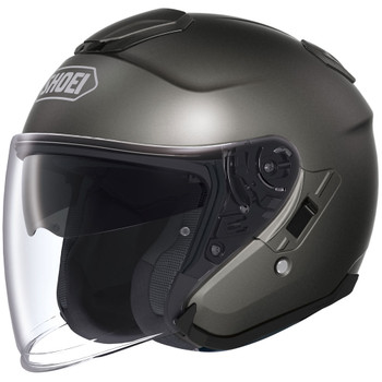 Shoei J-Cruise Open Face Helmet - Anthracite Metallic