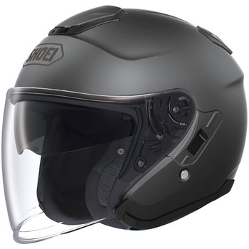 Shoei J-Cruise Open Face Helmet - Matte Deep Grey