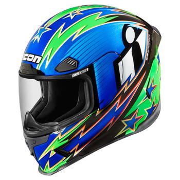 Icon Airframe Pro Warbird Helmet - Blue