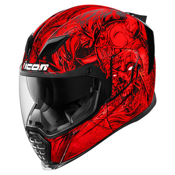 Icon Airflite Krom Helmet - Red