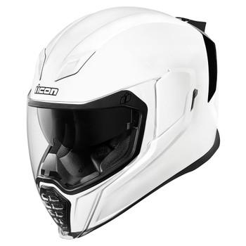 Icon Airflite Helmet - Gloss White
