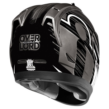 Icon Alliance Overlord Helmet - Black
