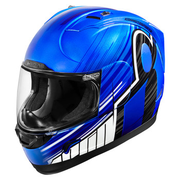 Icon Alliance Overlord Helmet - Blue