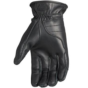 Roland Sands Wellington Leather Gloves - Black