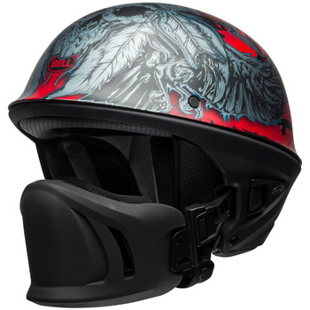 Bell Rogue Airtrix Matte Black/Red/Titanium Helmet