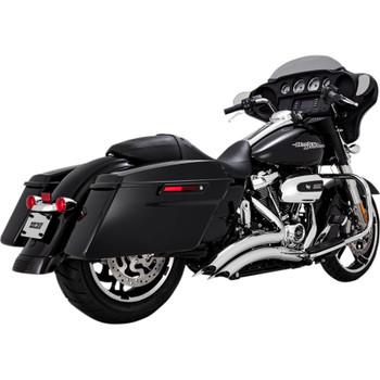 Vance & Hines Big Radius Exhaust for 2017-2018 Harley Touring - Chrome