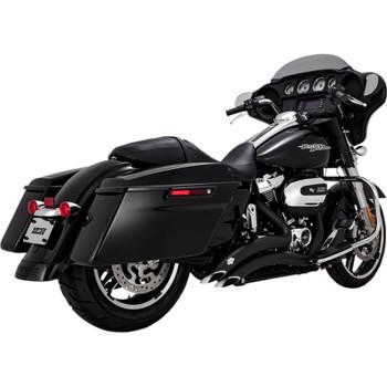 Vance & Hines Big Radius Exhaust for 2017-2018 Harley Touring - Black